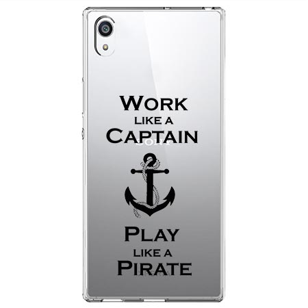 Etui na Sony Xperia XA1 Ultra - Work like a Captain…