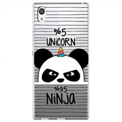 Etui na Sony Xperia XA1 Ultra - Ninja Unicorn - Jednorożec.