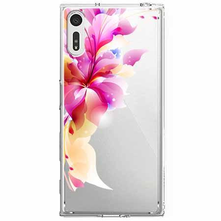Etui na Sony Xperia XZ - Bajeczny kwiat.