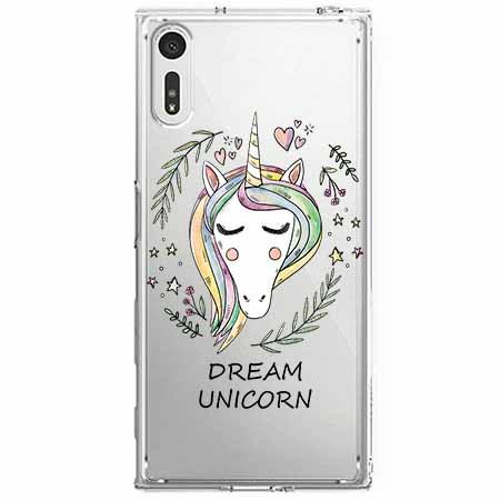 Etui na Sony Xperia XZ - Dream unicorn - Jednorożec.