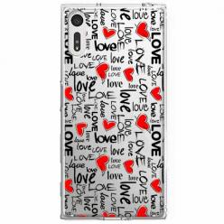 Etui na Sony Xperia XZ - Love, love, love…