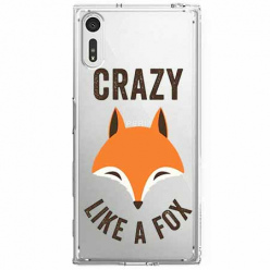 Etui na Sony Xperia XZ - Crazy like a fox.