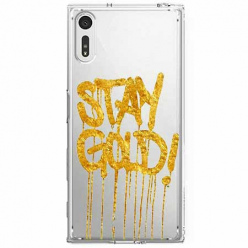 Etui na Sony Xperia XZ - Stay Gold.