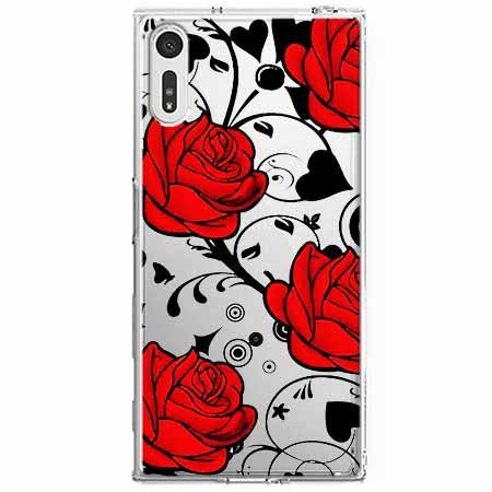Etui na Sony Xperia XZ - Czerwone róże.