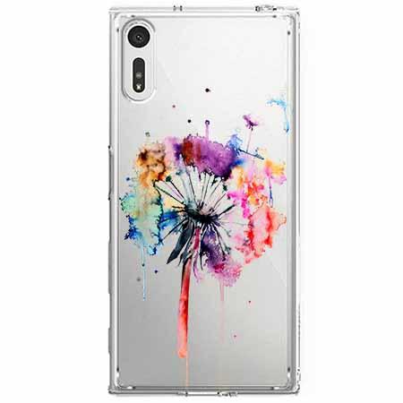 Etui na Sony Xperia XZ - Watercolor dmuchawiec.