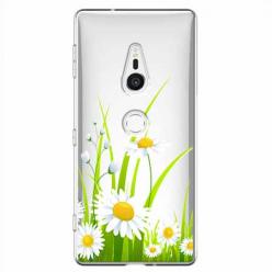 Etui na Sony Xperia XZ2 - Polne stokrotki.