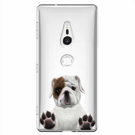 Etui na Sony Xperia XZ2 - Słodki szczeniaczek.