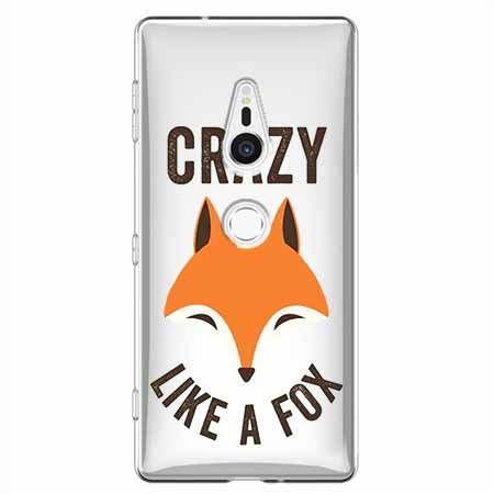 Etui na Sony Xperia XZ2 - Crazy like a fox.