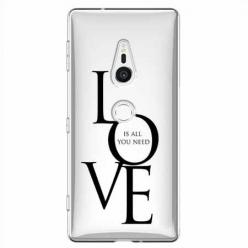Etui na Sony Xperia XZ2 - All you need is LOVE.