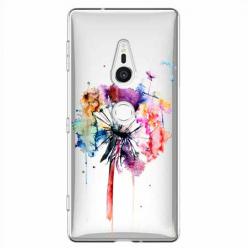 Etui na Sony Xperia XZ2 - Watercolor dmuchawiec.