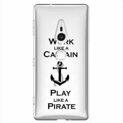 Etui na Sony Xperia XZ2 - Work like a Captain…