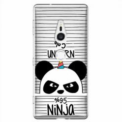 Etui na Sony Xperia XZ2 - Ninja Unicorn - Jednorożec.