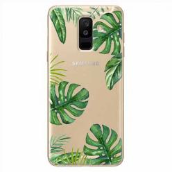 Etui na Samsung Galaxy A6 Plus 2018 - Egzotyczna roślina Monstera