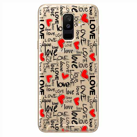 Etui na Samsung Galaxy A6 Plus 2018 - Love, love, love…