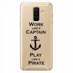 Etui na Samsung Galaxy A6 Plus 2018 - Work like a Captain…