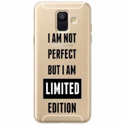 Etui na Samsung Galaxy A8 2018 - I Am not perfect…