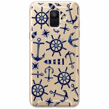 Etui na Samsung Galaxy A8 2018 - Ahoj wilki morskie.