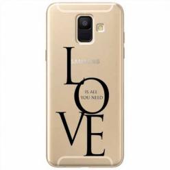 Etui na Samsung Galaxy A8 2018 - All you need is LOVE.