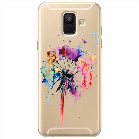 Etui na Samsung Galaxy A8 2018 -  Watercolor dmuchawiec.