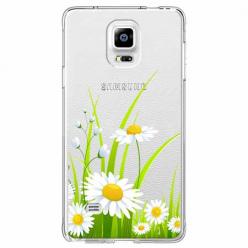 Etui na Samsung Galaxy Note 4 - Polne stokrotki.