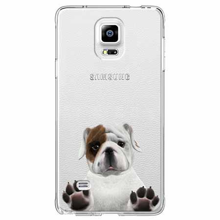 Etui na Samsung Galaxy Note 4 - Słodki szczeniaczek.