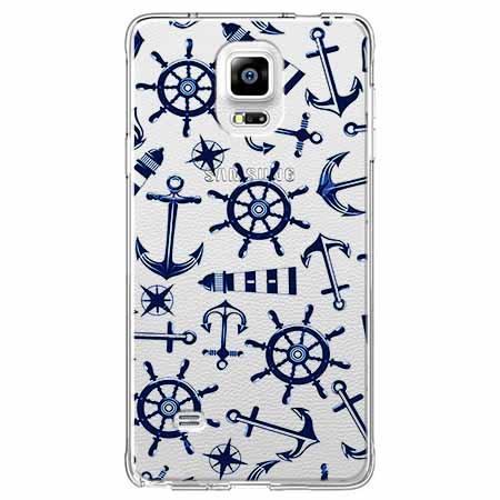 Etui na Samsung Galaxy Note 4 - Ahoj wilki morskie.