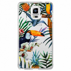 Etui na Samsung Galaxy Note 4 - Egzotyczne tukany.