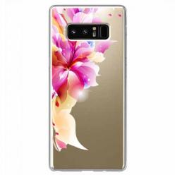 Etui na Samsung Galaxy Note 8 - Bajeczny kwiat.