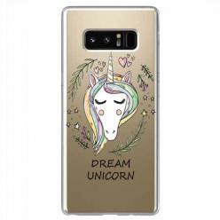 Etui na Samsung Galaxy Note 8 - Dream unicorn - Jednorożec.