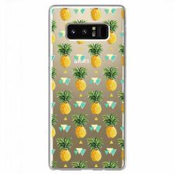Etui na Samsung Galaxy Note 8 - Ananasowe szaleństwo.