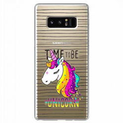 Etui na Samsung Galaxy Note 8 - Time to be unicorn - Jednorożec.