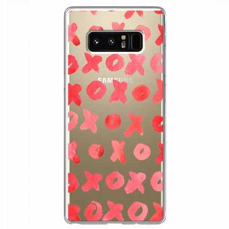 Etui na Samsung Galaxy Note 8 - XO XO XO.