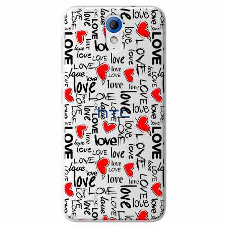 Etui na HTC Desire 620 - Love, love, love…