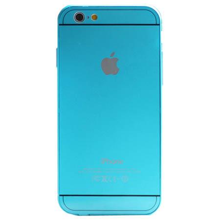 iPhone 5 / 5s etui aluminium bumper case - Niebieski