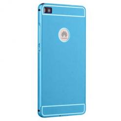 Bumper case na Huawei P8 Lite - niebieski