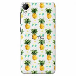 Etui na HTC Desire 825 - Ananasowe szaleństwo.