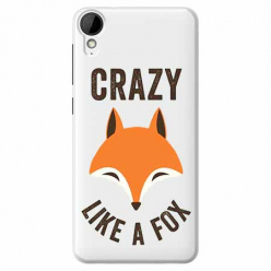 Etui na HTC Desire 825 - Crazy like a fox.