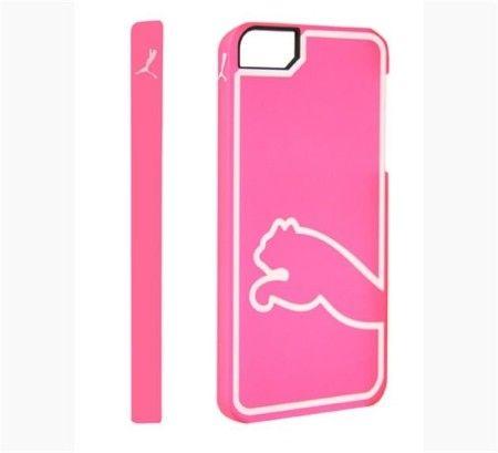 Etui iPhone 5/5S Puma Monoline - różowy