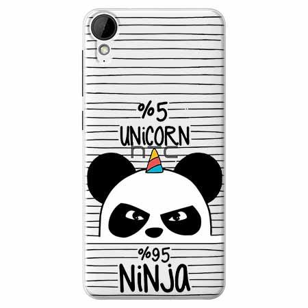 Etui na HTC Desire 825 - Ninja Unicorn - Jednorożec.