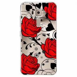 Etui na Zenfone 3 - Czerwone róże.