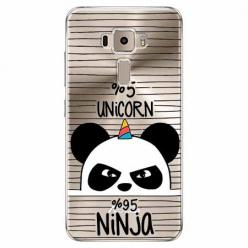 Etui na Zenfone 3 - Ninja Unicorn - Jednorożec.
