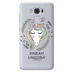 Etui na Zenfone 3 Max - Dream unicorn - Jednorożec.