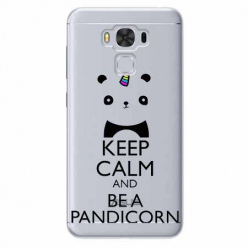 Etui na Zenfone 3 Max - Keep Calm… Pandicorn.