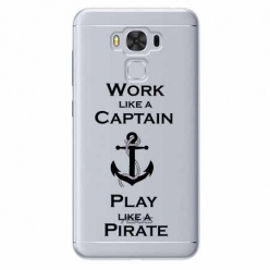 Etui na Zenfone 3 Max - Work like a Captain…