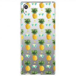 Etui na Sony Xperia E5 - Ananasowe szaleństwo.