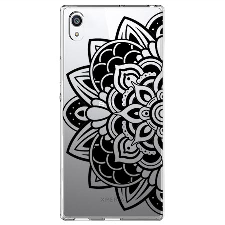 Etui na Sony Xperia E5 - Kwiatowa mandala.