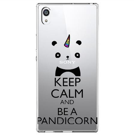 Etui na Sony Xperia E5 - Keep Calm… Pandicorn.