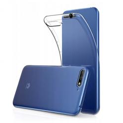 Etui na Huawei Y6 2018 - silikonowe, przezroczyste crystal case.