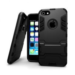 Pancerne etui na iPhone SE - Czarny