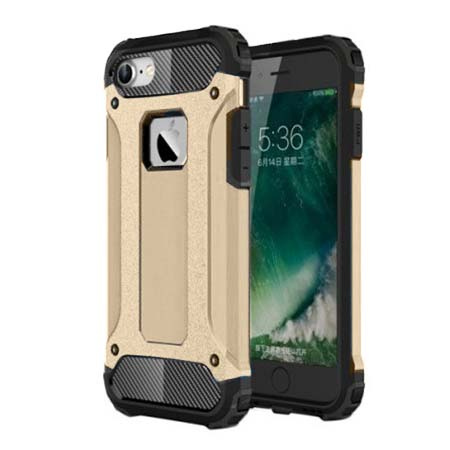 Pancerne etui na iPhone 7 - Złoty